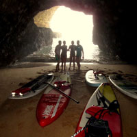 coastal sup tours algarve