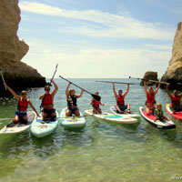 algarve sup coastal tour